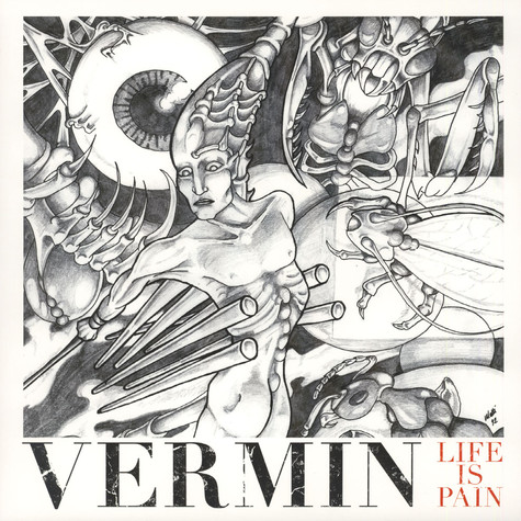 Vermin - Life Is Pain Red Vinyl Edition