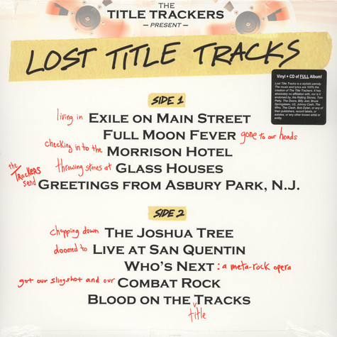 Title Trackers - Lost Title Tracks
