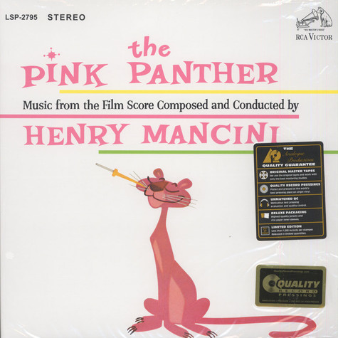 Henry Manchini - OST The Pink Panther  45RPM, 200g Vinyl Edition