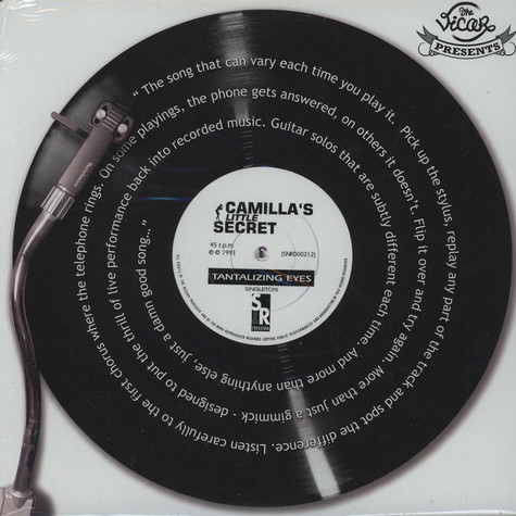 Camilla's Little Secret (with Robert Fripp) - Tantalizing Eyes