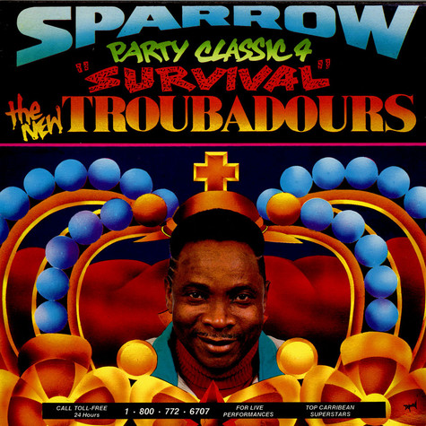"Mighty Sparrow & The New Troubadours - Party Classic 4 ""Survival"""