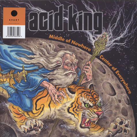 Acid King - Middle Of Nowhere, Center Of Everywhere Blue Vinyl Edition