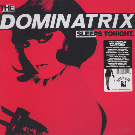 Dominatrix - The Dominatrix Sleeps Tonight Pink Vinyl Edition
