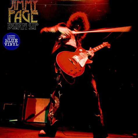 Jimmy Page - Burn Up Red Vinyl Edition