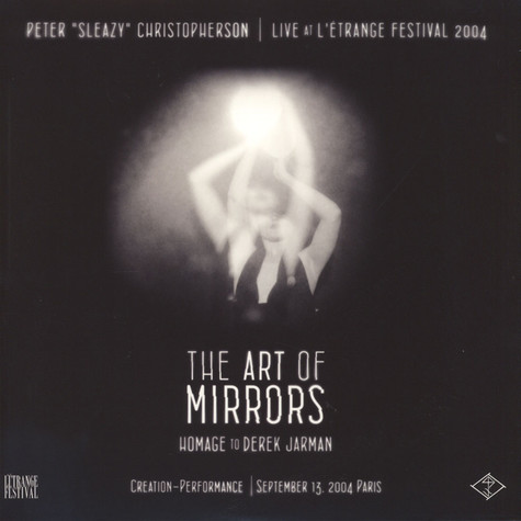"Peter ""Sleazy"" Chrisopherson - Live At L'Etrange Festival 2004 Colored Vinyl Edition"