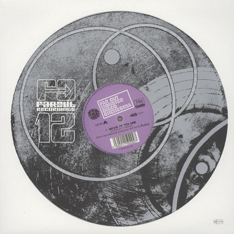 Far Out Monster Disco Orchestra - Give It To Me Andres & Dj Spinna Remixes