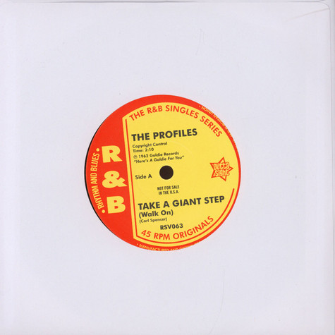 Profiles, The - Take A Giant Step