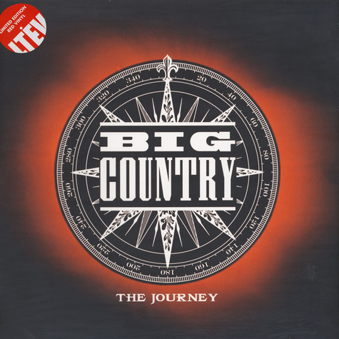 Big Country - The Journey Limited Red Vinyl