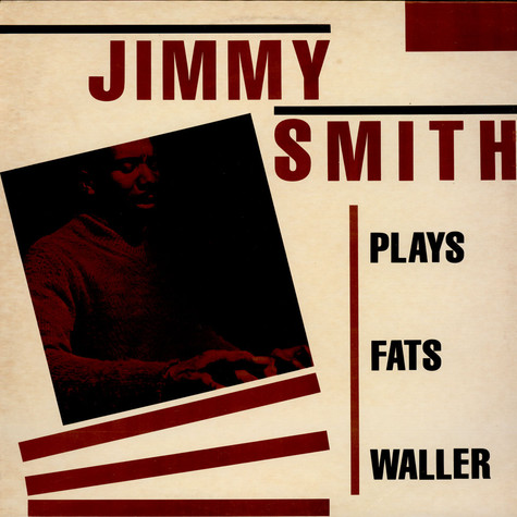 Jimmy Smith - Plays Fats Waller