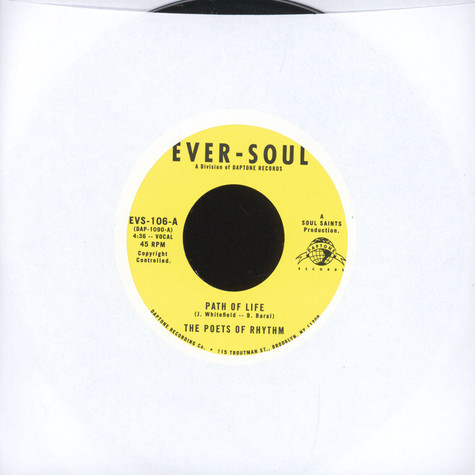 Poets Of Rhythm - Path Of Life / Smilin' (While You're Crying)