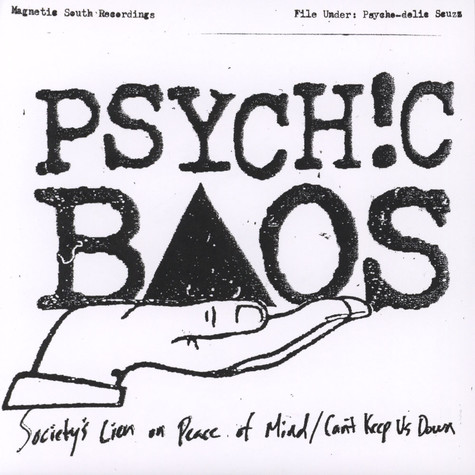 Psychic Baos - Society's Lien On Peace Of Mind / Can't Keep Us Down