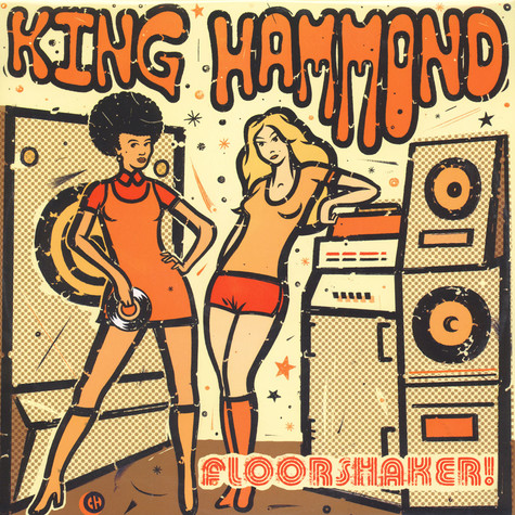 King Hammond - Floorshaker! Yellow Vinyl