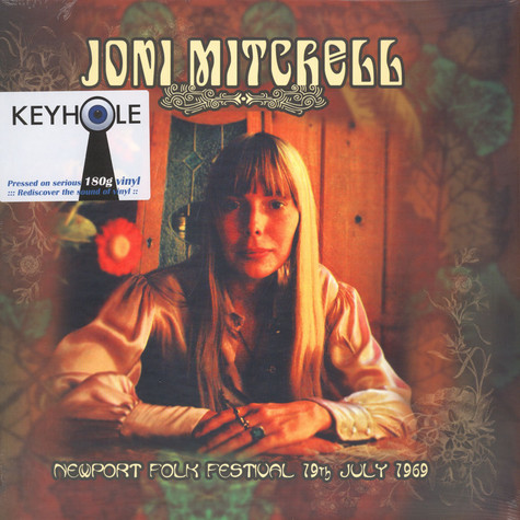 Joni Mitchell - Newport Folk Festival 19th July 1969