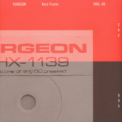 Surgeon - Rare Tracks 95-96 (2014 Remaster)