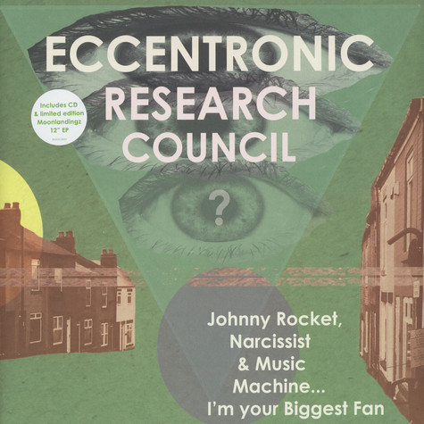 Eccentronic Research Council, The - Johnny Rocket, Narcissist & Music Machine
