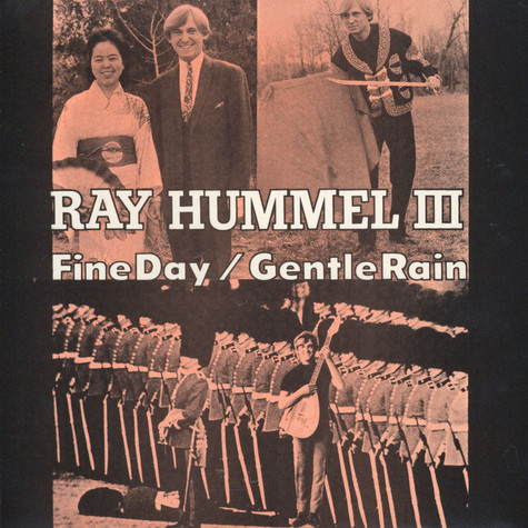 Ray Hummel III - With The Legends - Fine Day Unreleased Picture Sleeve Edition