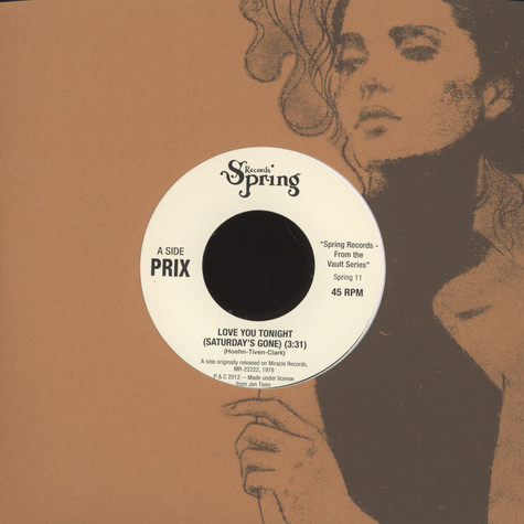 Prix - Love You Tonight / Love You All Day Long