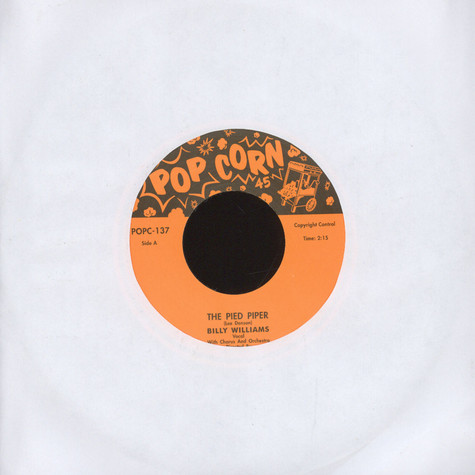 Billy Williams / Nick Todd - Pied Piper / Too Much Rosita