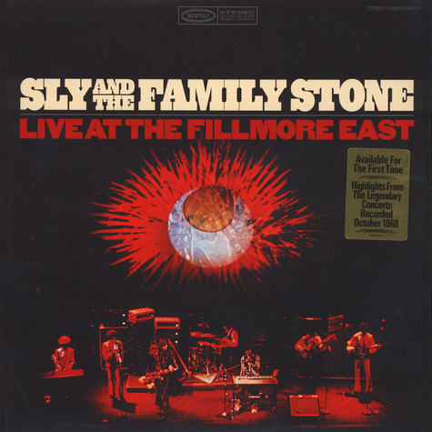 Sly & Family Stone - Live At The Fillmore