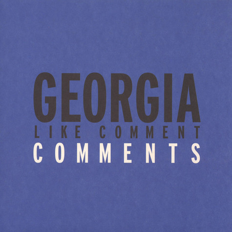 Georgia - Like Comment Comments