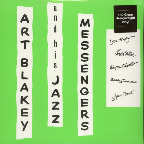 Art Blakey And His Jazz Messengers - Art Blakey And His Jazz Messengers 180g Vinyl Edition