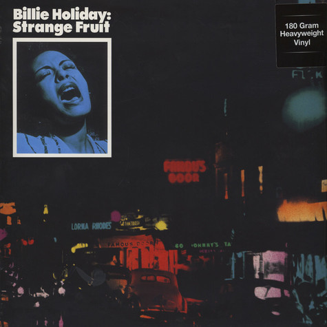 Billie Holiday - Strange Fruit 180g Vinyl Edition