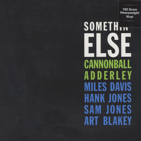 Cannonball Adderley - Somethin' Else 180g Vinyl Edition