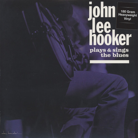 John Lee Hooker - John Lee Hooker Plays And Sings The Blues 180g Vinyl Edition