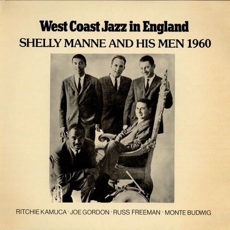 Shelly Manne & His Men - West Coast Jazz In England