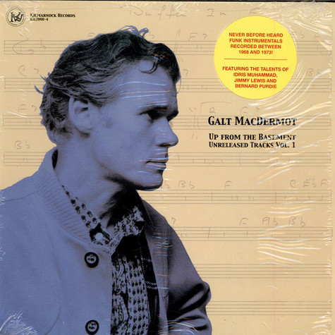 Galt MacDermot - Up From The Basement Unreleased Tracks Vol. 1
