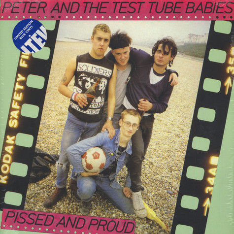 """Peter & The Test Tube Babies - Pissed & Proud + Rarities 12"""""""