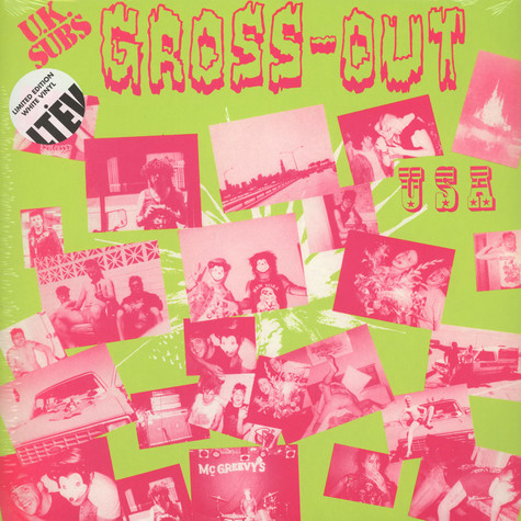 UK Subs - Gross Out USA Limited Edition White Vinyl