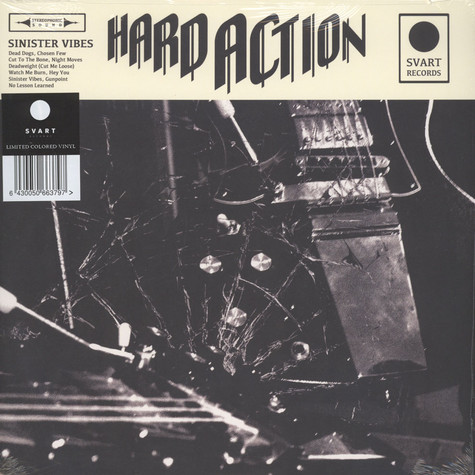 Hard Action - Sinister Vibes Beer Colored Vinyl Edition