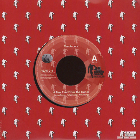 Ascots, The / Gloria Edwards - A Few Feet From The Gutter / My Love Is Getting Stronger