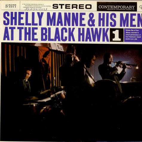 Shelly Manne & His Men - At The Black Hawk Vol. 1