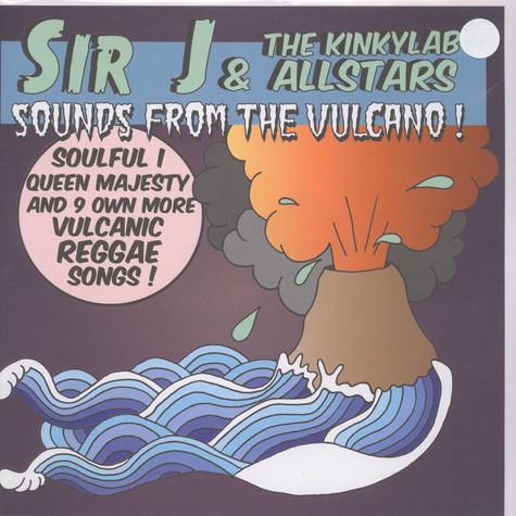 Sir J & The Kinky Lab Allstars - Sounds From The Vulcano