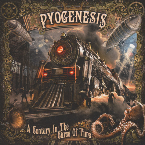 Pyogenesis - A Century In The Curse Of Time Gold Vinyl Edition