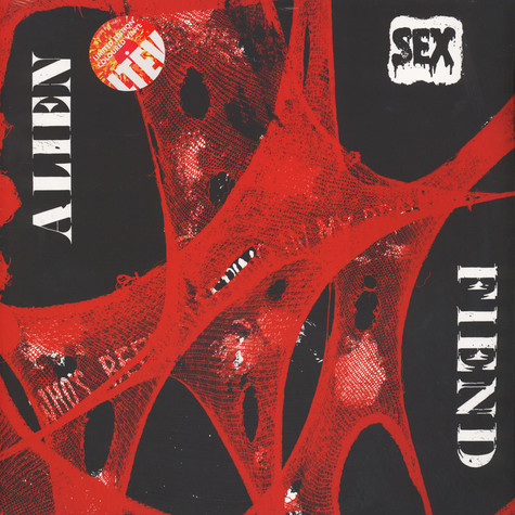 Alien Sex Fiend - Who's Been Sleeping In My Brain Colored Vinyl Edition