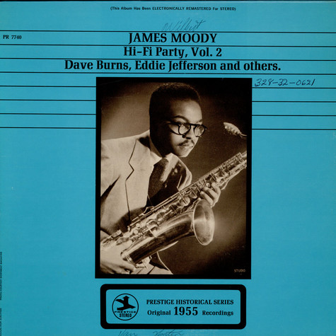 James Moody - Hi-Fi Party, Vol. 2