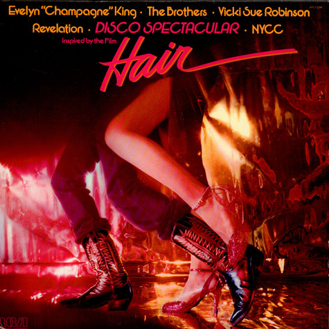 "Evelyn ""Champagne"" King* • Brothers, The • Vicki Sue Robinson • New York Community Choir, The, Revelation - Disco Spectacular (Inspired By The Film ""Hair"")"