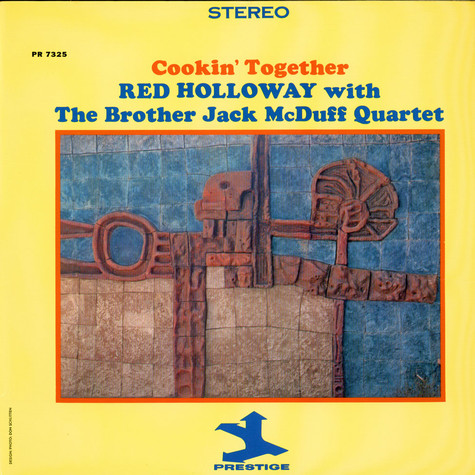 Red Holloway With Brother Jack McDuff Quartet, The - Cookin' Together