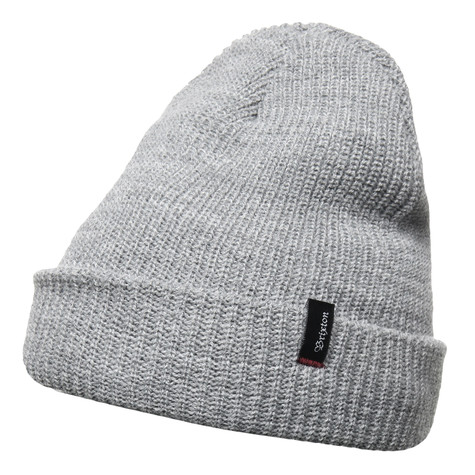 fcc35136981 Brixton - Heist Beanie (Light Heather Grey)