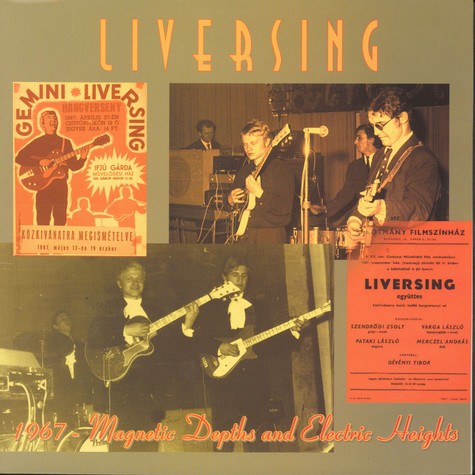 Liversing - 1967 – Magnetic Depths And Electric Heights