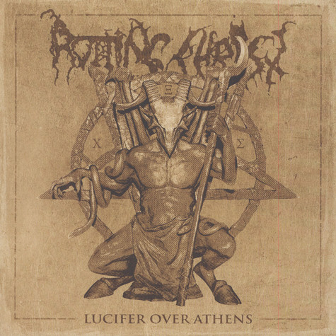 Rotting Christ - Lucifer Over Athens Black Vinyl Edition