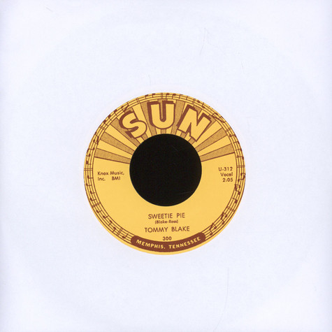 Tommy Blake - Sweetie Pie/ I Dig You Baby