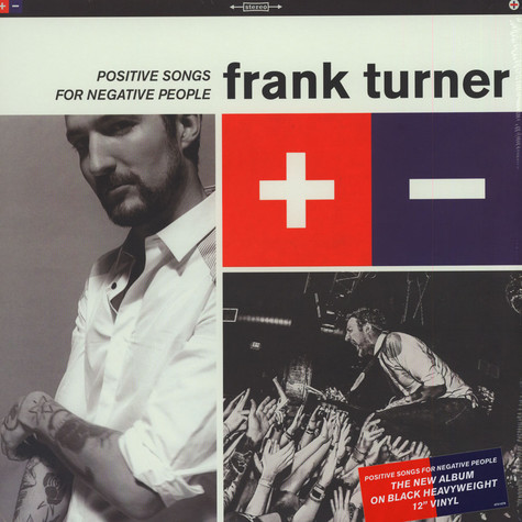 Frank Turner - Postive Songs For Negative People