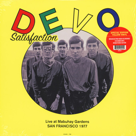 Devo - Satisfaction: Live At Mabuhay Gardens, San Francisco 1977