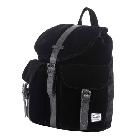 8606c97a1de Herschel - Dawson Backpack (Black Velvet   Black Leather)