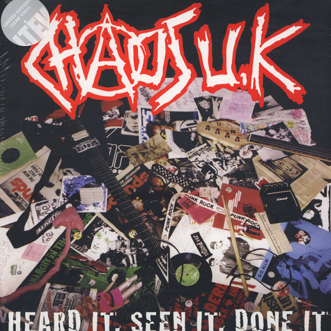 Chaos UK - Heard It, Seen It, Done It