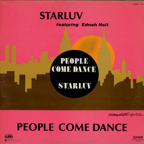 Starluv Featuring Ednah Holt - People Come Dance